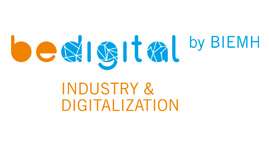 Logo de Be Digital de la BIEMH